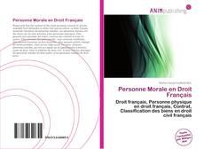 Portada del libro de Personne Morale en Droit Français