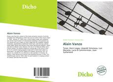 Bookcover of Alain Vanzo