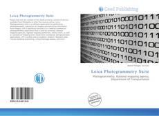 Couverture de Leica Photogrammetry Suite