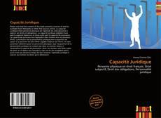 Bookcover of Capacité Juridique