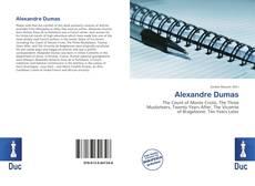 Обложка Alexandre Dumas