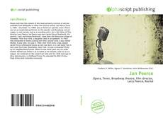 Buchcover von Jan Peerce