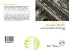 Copertina di Francesco Marconi