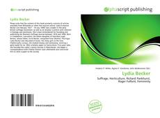 Bookcover of Lydia Becker