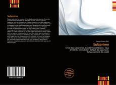 Bookcover of Subprime