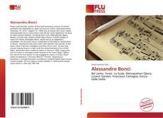 Bookcover of Alessandro Bonci