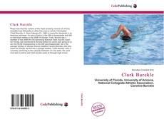 Portada del libro de Clark Burckle