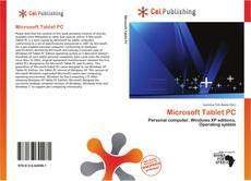 Microsoft Tablet PC kitap kapağı