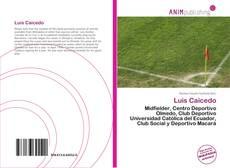 Portada del libro de Luis Caicedo