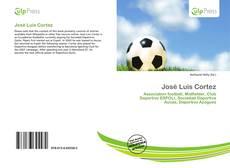 Portada del libro de José Luis Cortez