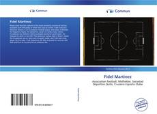 Bookcover of Fidel Martínez