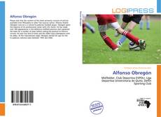 Bookcover of Alfonso Obregón