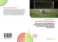 Bookcover of Ahmed Eid Abdel Malek