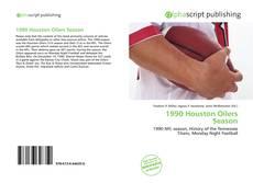 Bookcover of 1990 Houston Oilers Season