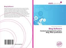 Bookcover of Blog Software