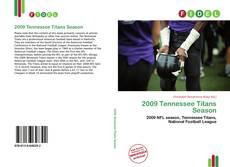 Copertina di 2009 Tennessee Titans Season