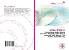 Disque Optique kitap kapağı
