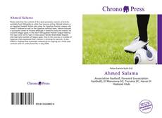 Bookcover of Ahmed Salama