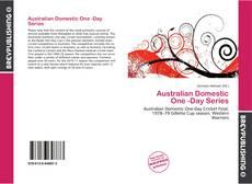 Australian Domestic One -Day Series的封面