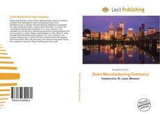 Duke Manufacturing Company kitap kapağı
