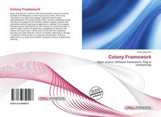 Couverture de Colony Framework