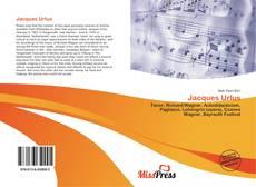 Buchcover von Jacques Urlus