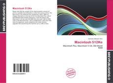 Couverture de Macintosh 512Ke