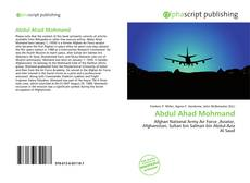 Bookcover of Abdul Ahad Mohmand