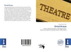 Buchcover von Ernst Kraus