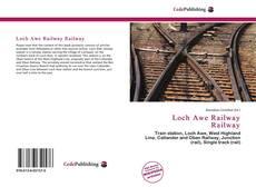 Capa do livro de Loch Awe Railway Railway