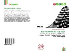 Bookcover of Bicentennial Park South