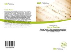 Capa do livro de Karel Burian