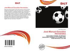 Portada del libro de José Manuel González Hernández