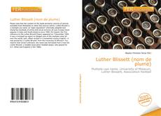 Bookcover of Luther Blissett (nom de plume)