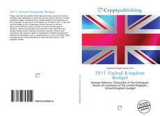 2011 United Kingdom Budget的封面
