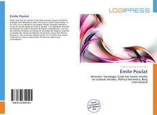 Bookcover of Émile Poulat