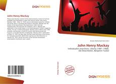 Portada del libro de John Henry Mackay