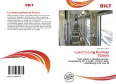 Borítókép a  Luxembourg Railway Station - hoz