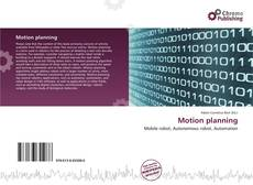 Capa do livro de Motion planning