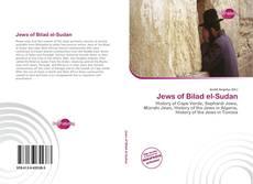 Jews of Bilad el-Sudan kitap kapağı