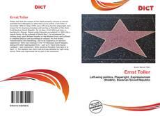 Buchcover von Ernst Toller