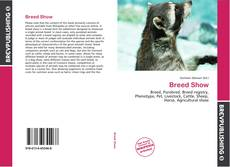 Bookcover of Breed Show