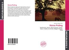 Bookcover of Horse Pulling
