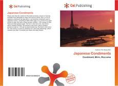 Capa do livro de Japanese Condiments
