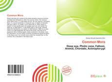 Bookcover of Common Mora