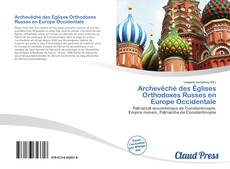 Buchcover von Archevêché des Églises Orthodoxes Russes en Europe Occidentale
