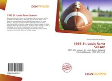 Buchcover von 1995 St. Louis Rams Season