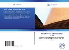 Bookcover of Man Booker International Prize