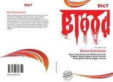 Portada del libro de Blood Substitute