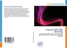 4 March 2001 BBC Bombing的封面